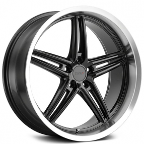 "19"" Staggered TSW Wheels Variante Gloss Black with Machined Lip Rotary Forged Rims"