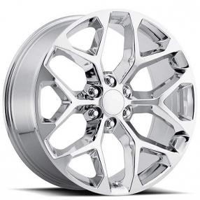 """20"""" 2014 Chevy Snowflake Wheels Chrome FR 59 OEM Replica Rims"""