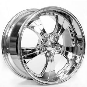 "19x8.5/9.5"" ACE C053 Trend Chrome Wheels (5x112/114/120, +38/40mm)"