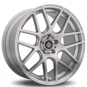 "18"" Curva Wheels C7 Silver Rims"
