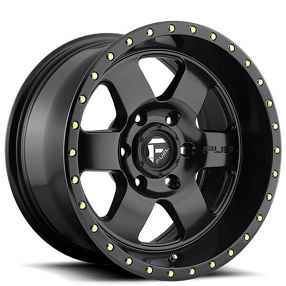 "20"" Fuel Wheels D618 Podium Matte Black Off-Road Rims"