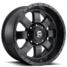 "20"" Fuel Wheels D626 Baja Matte Black Off-Road Rims"