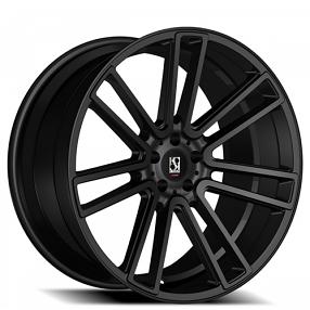 """26"""" Giovanna-Koko kuture Wheels Massa-7 Black Rims"""