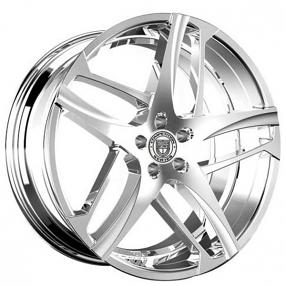 """22"""" Staggered Lexani Wheels Bavaria Chrome Rims"""