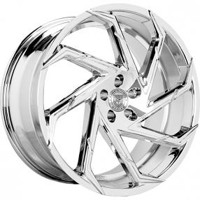 """24"""" Lexani Wheels Cyclone Chrome Rims"""
