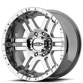 "18"" Moto Metal Wheels MO951 Chrome Off-Road Rims"