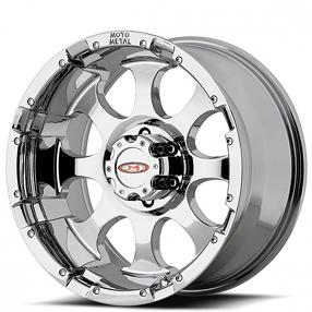 "16"" Moto Metal Wheels MO955 Chrome Off-Road Rims"