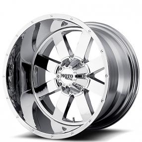 "17"" Moto Metal Wheels MO962 Chrome Off-Road Rims"