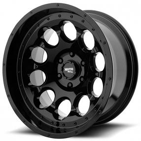 "17"" Moto Metal Wheels MO990 Rotary Gloss Black Off-Road Rims"