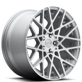 "19"" Rotiform Wheels R110 BLQ Silver Machined Rims"