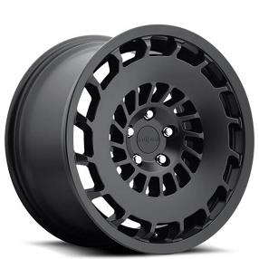 "19"" Rotiform Wheels R137 CCV Matte Black Rims"