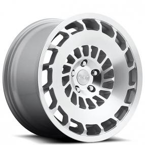 "18"" Rotiform Wheels R135 CCV Silver Machined Rims"