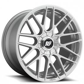 "20"" Staggered Rotiform Wheels R140 RSE Silver Rims"