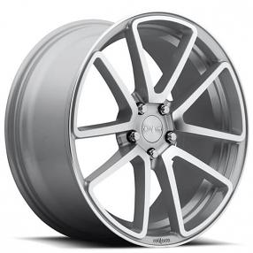 "18"" Rotiform Wheels R120 SPF Silver Machined Rims"