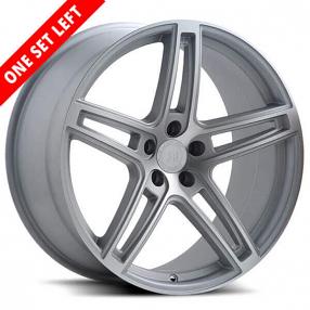 "20x8.5""  Road Force 5 Silver Wheels (5x112,5.114, 5.120 ET20)"