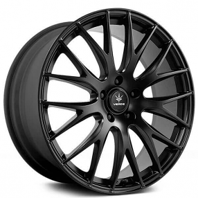 Verde Wheels HD974 Satin Black Wheel with Painted 22 x 10.5 inches //5 x 5 inches, 45 mm Offset