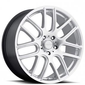"19"" Vision Wheels 426 Cross Hyper Silver Rims"