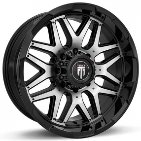 """20"""" American Truxx Wheels AT-151 Grind Black Machined Off-Road Rims"""