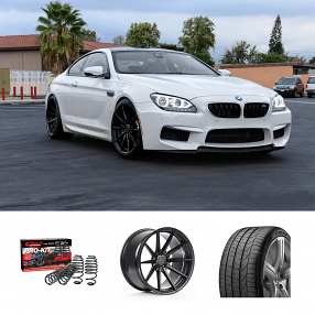 "2016 BMW M6 20"" Staggered Wheels+Tires+Suspension Package Deal"