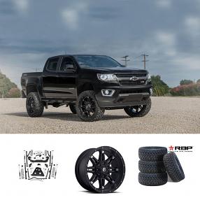 "2017 Chevorlet Colorado 20x9"" Wheels+Tires+Suspension Package Deal"