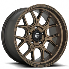 "20"" Fuel Wheels D671 Tech Matte Bronze Off-Road Rims"