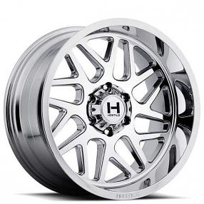"20"" Hostile Wheels H108 Sprocket Chrome Off-Road Rims"