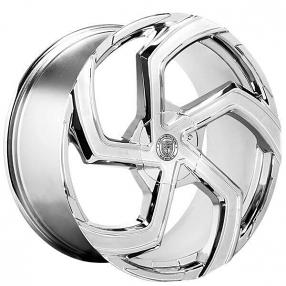 "22"" Staggered Lexani Wheels Swift Chrome Rims"