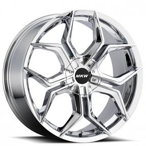"18"" MKW Wheels M121 Chrome Rims"