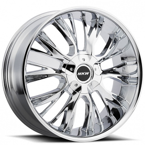 "18"" MKW Wheels M122 Chrome Rims"