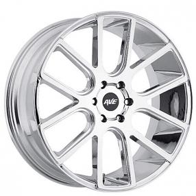 """18"""" Avenue Wheels A614 Chrome Rims"""