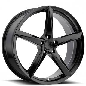 "18"" MKW Wheels M120 Black Rims"