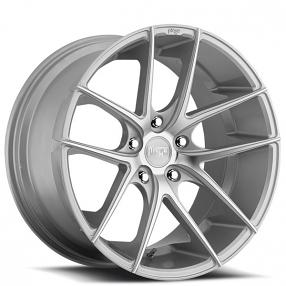 "19"" Niche Wheels M131 Targa Silver Machined Rims"