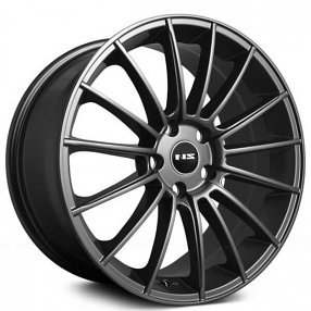"18"" NS Wheels Tunner NS1402 Matte Black Rims"