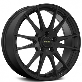 "18"" NS Wheels Tunner NS1505 Matte Black Rims"