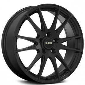 "17"" NS Wheels Tunner NS1505 Matte Black Rims"