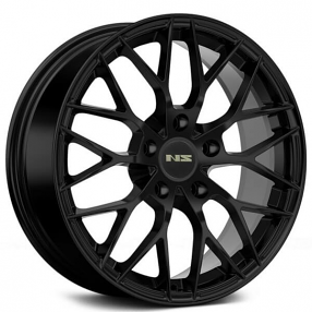 "17"" NS Wheels Tunner NS1506 Black Rims"