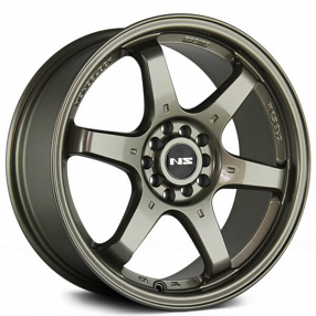 "15"" NS Wheels Tunner NS1507 Bronze Rims"