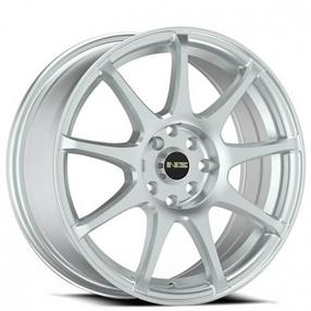 "16"" NS Wheels Tunner NS1508 Silver Rims"