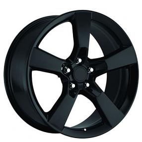 "20"" 2010 Camaro Wheels Gloss Black OEM Replica Rims"