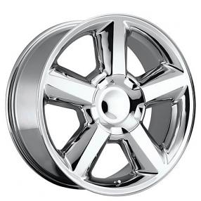 """20"""" 2007 Chevy Tahoe Wheels Chrome OEM Replica Rims"""