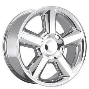 """20"""" 2007 Chevy Tahoe Wheels Polished OEM Replica Rims"""