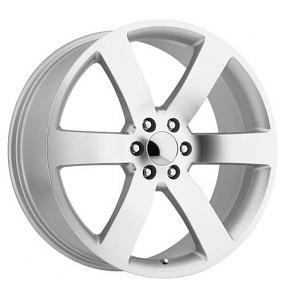 "24"" TBSS 1500 Tahoe / Suburban / Trailblazer SS Wheels Silver Machined OEM Replica Rims"