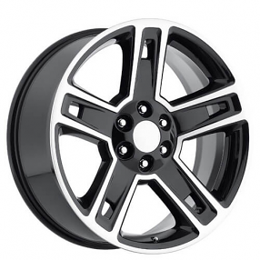 factory reproductions audiocityusa factory reproductions wheels  22 2015 chevy silverado 1500 wheels black machined oem replica rims
