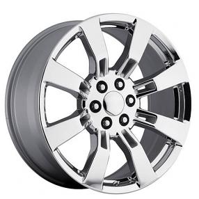 """24"""" GMC Denali / Escalade Wheels Chrome OEM Replica Rims"""