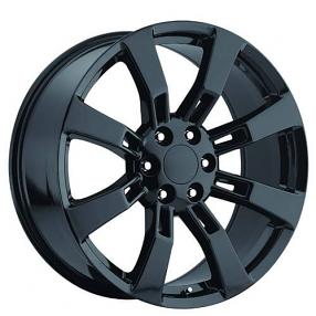 "20"" GMC Denali / Escalade Wheels Gloss Black OEM Replica Rims"