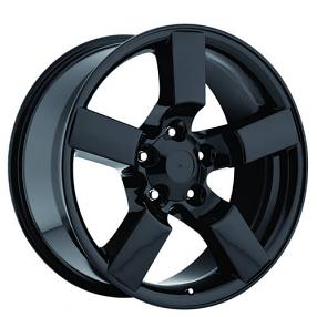 "20"" 2001 Ford Lightning Wheels Gloss Black OEM Replica Rims"