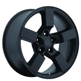 "20"" 2001 Ford Lightning Wheels Satin Black OEM Replica Rims"