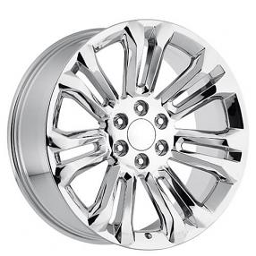 "24"" GMC Wheels Chrome OEM Replica Rims"