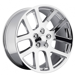 "24"" Dodge Ram SRT10 Wheels Chrome OEM Replica Rims"