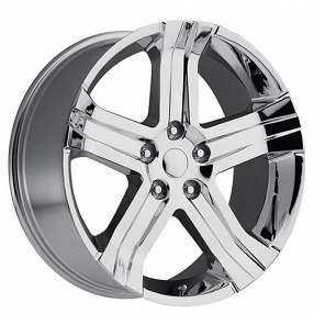 "22"" 2013 Dodge Ram RT Wheels Chrome OEM Replica Rims"